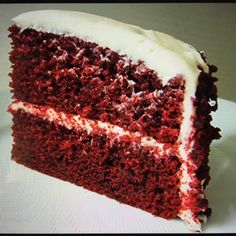 Red velvet cake recipe, and chefs tip: cut sugar by 10%