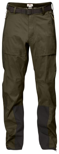 Technical three-layer shell trousers in Eco-Shell. Well-thought-through 6c2d32e64c0