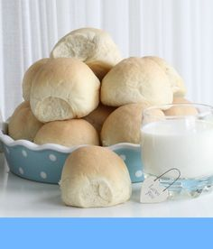 04 Fluffy Dinner Rolls, Baked Rolls, Dinner Rolls Recipe, Pastel, Our Daily Bread, No Bake Desserts, Bread Recipes, Food Photography, Bakery