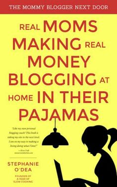 "GIVEAWAY ENDS 3/13/2015:  Do you want to learn how to make a legitimate income while also getting to stay at home with your kids? I'm giving away a free copy of Stephanie O'Dea's book ""The Mommy Blogger Next Door: Real Moms Making Real Money Blogging at Home, In Their Pajamas"". I highly recommend this fabulous book! Click to enter and win yourself a FREE copy!"