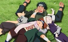 Team Asuma, or Team 10, is a generation in the Ino–Shika–Chō Trio (いの しか ちょうトリオ, Ino–Shika–Chō Torio). As such, the three team members are good friends and have exceptional team work, although they tend to bicker from time to time. All three members of Team 10 are skilled at stalling opponents. They were led by Asuma until his death. Kakashi led them temporarily after that to help them avenge Asuma's death. The team is assumed to still be active, although without a permanent leader.