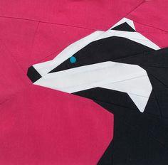 Woodland Quilt-Along- The Badger | The Tartankiwi