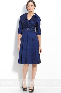 #Sheath #ColumnV-neck #TaffetaKnee-length #MotheroftheBride #Dresses 05873  $130.89  Find it here.... http://honeydress.com/b/Sheath-Column-V-neck-Taffeta-Knee-length-Mother-of-the-Bride-Dresses-05873.html?utm_source=SNS%5FSource_medium=SNS%5FPinterest_term=Pinterest_campaign=Pinterest%5FPost_nooverride=1...