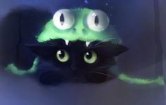 40 Cute Animals Paintings by Rihards Donskis | The Design Inspiration