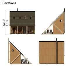 Small Lake House Plans complete set of small lake houseplans construction progress + comments complete material list + tool list DIY building cost $21, 200 FREE sample plans of one of our design