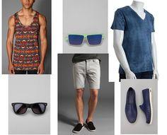 Menswear inspiration for music festivals (Coachella)