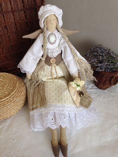 """Купить Тильда"""" Светлое утро Прованса"""" - тильда, тильда кукла, тильда ангел, прованс ♡"""