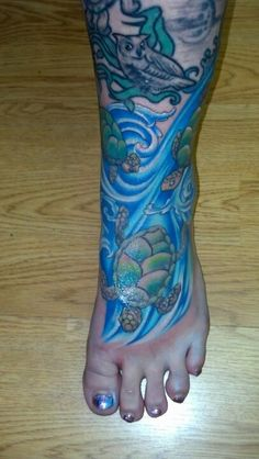 My turtle / nature tattoo