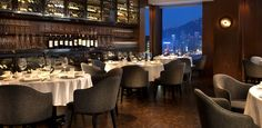 Hong-Kong - Above And Beyond: This stunning restaurant and bar in the Hotel Icon, was established by the English designer and restaurateur, Sir Terence Conran. Above & Beyond makes the most of its location, with panoramic views of Victoria Harbour. The simply unbeatable scenery has the food to match, with a range of elegant, creatively prepared and enjoyable Cantonese cuisine, given a unique and flavoursome style by Chef Joseph Tse and his staff.