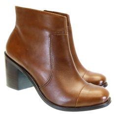 Bota Cano Curto Conhaque 5885 Valentina | Moselle sapatos finos femininos! Moselle sua boutique online.