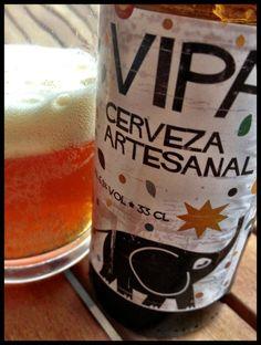 El Alma del Vino.: Cervezas : Cerveza Artesanal Tyris VIPA.