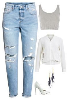 """""""Untitled #2006"""" by netteskytte on Polyvore featuring H&M, Michael Antonio, Topshop, Object Collectors Item and Shashi"""