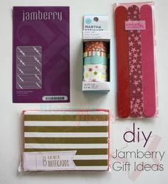 DIY Jamberry Gift Ideas - cute ideas that don't cost a lot!