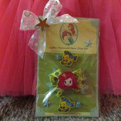 SALE Ariel The Little Mermaid Hair Clip by Sootysdressupfriends, $9.00