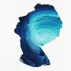 Norwegian visual artist Andreas Lie blurs the boundary between the beautiful . Art Sketches, Art Drawings, Expressive Art, Painting Lessons, Texture Painting, Simple Art, Art Sketchbook, Double Exposure, Lovers Art