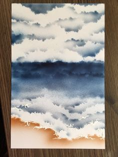 Just4FunCrafts and DoveArt Studios: Sea and Sky - Tutorial