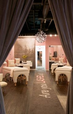Spa Interior Design, Spa Design, Salon Design, Design Ideas, Spa Studio, Brow Studio, Spa Room Decor, Esthetics Room, Saloon