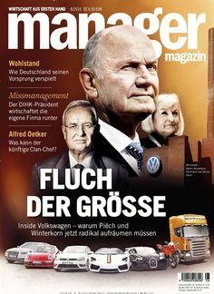 Fluch der Größe Gefunden in: manager magazin - epaper Nr. 08/2014