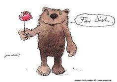 Für Dich. #Glückwunsch, #Geburtstag, #Postkarte, #Janosch