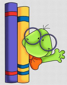 Book Worm - So cute! School Clipart, Diy Crafts To Do, Copics, School Days, Paper Piecing, Painted Rocks, Book Worms, Are You Happy, Coloring Pages