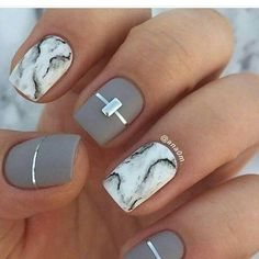 Would want different marbled nails but this is cool