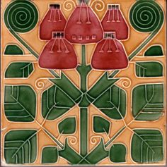 Art Nouveau Tiles - Rakovnicke Keramicke | The Decorated Tile Wiki | FANDOM powered by Wikia