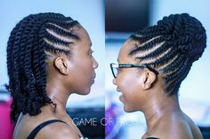 248 Likes, 2 Comments - Leading Natural Hair Brand& ( Hair Twist Styles, Flat Twist Hairstyles, Flat Twist Updo, Braided Hairstyles, Curly Hair Styles, Easy Hairstyles, Flat Twist Styles, Updo Styles, Hairstyles Videos