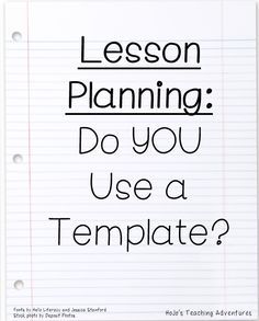 Do you use a lesson plan template? Here are some various ways to lay out your lesson plans! Teacher Organization, Teacher Tools, Teacher Resources, Teacher Hacks, Teaching Plan, Teaching Tips, Teaching Art, Beginning Of School, Middle School