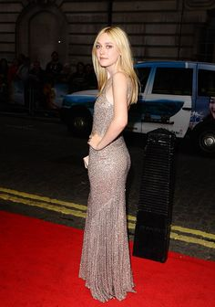 Dakota Fanning at the London premiere of Now Is Good, September 13th