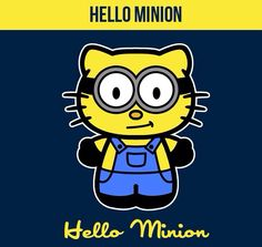 Hello kitty minion!!