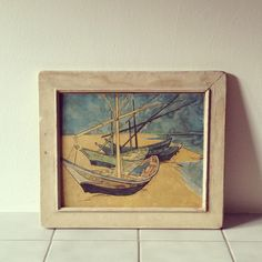 Sailboat Painting. $25.00, via Etsy.