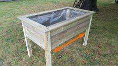 Comment fabriquer un potager surélevé   Plan Potager, Garden Paths, Garden Tools, Potager Palettes, Getaway Cabins, Planter Boxes, Real Wood, Outdoor Furniture, Outdoor Decor
