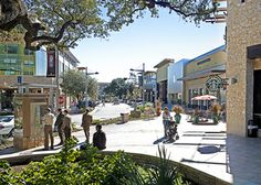 The Domain in Austin, Texas, features 1,300,000 square feet of upscale and mainstream retail and restaurant space with high-end retailers that include Barneys CO-OP, Louis Vuitton, Tiffany & Co. and the city's first Neiman Marcus, as well as more traditional retailers like Express, American Eagle Outfitters and Aeropostale.