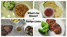 What's for Dinner?   Recipe Links