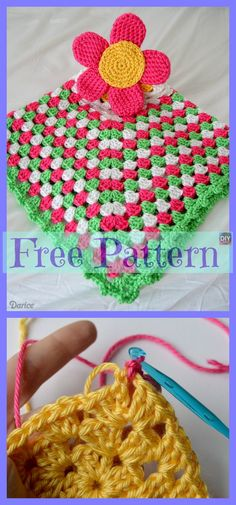 These crochet lovey patterns are very cute! The Loveys will be a great companion for your child, they will love the cute designs on it! Below, there are 10 Quick Crochet, Cute Crochet, Crochet Crafts, Crochet Baby, Crochet Lovey Free Pattern, Easy Knitting Patterns, Crochet Patterns, Blanket Patterns, Crochet Owl Basket