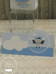 Le baptême de votre garçon est sur le thème du hibou ou des animaux de la forêt ? Ce marque place complète la collection de boîtes à dragées que nous vous proposons. Sa douce couleur bleu pastel assurera une décoration raffinée http://www.maison-des-delices.fr/contenants-a-dragees-mariage-accessoire-881