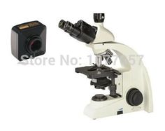 Hot Sale,8M,Brightfield 40x-1000X USB digital biological clinical microscope with UIS plan objective 4x, 10x, 40x, 100x