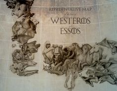 [NO SPOILERS] Found this different styled map of Westeros