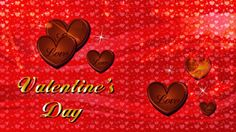 Hot Red Valentines Day Card ~ Best HD Desktop Wallpapers