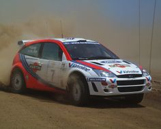 Ford Focus WRC rally car - Colin McRae  Nicky Grist