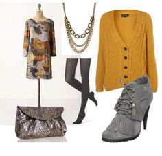 change the shoes and the bag, and this could be cute for work
