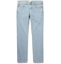 SIMON MILLER M001 Slim-Fit Selvedge Denim Jeans. #simonmiller #cloth #jeans