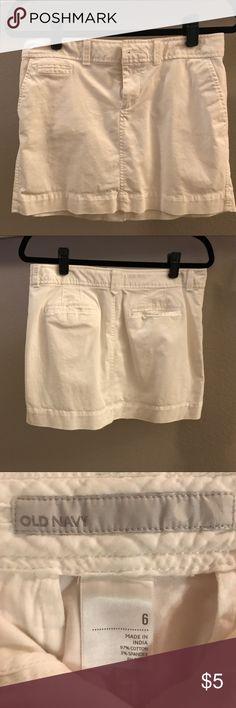 Old Navy Skirt White Old Navy Skirts