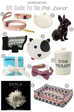 gifts for pet lovers. Gift Guide: For The Pet Lover Gifts Lovers T