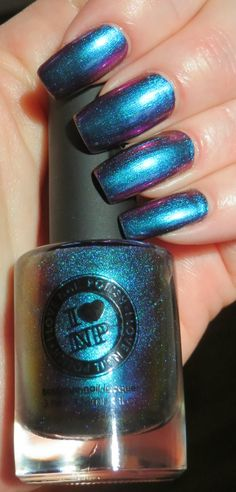 Birefringence by I Love Nail Polish. I sooo love this polish...but on my toes!