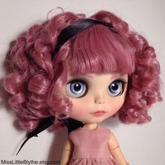 OOAK Custom Blythe Doll fake - Rossella di MissLittleBlythe su Etsy https://www.etsy.com/it/listing/384969326/ooak-custom-blythe-doll-fake-rossella