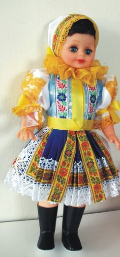 Panenky - 45 cm - mrkací | Piešťany - 45cm - SLOVENSKO | Krojované panenky