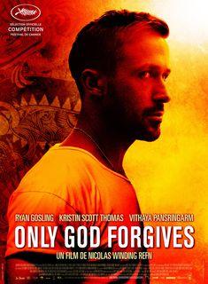 Only God Forgives est un film de Nicolas Winding Refn avec Ryan Gosling, Kristin Scott Thomas. Synopsis : À Bangkok, Julian, qui a fui la justice américaine, dirige un club de boxe thaïlandaise servant de couverture à son trafic de drogue.Sa mère, ch