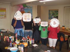 Group painting at Paint & Create Meadowbank Auckland
