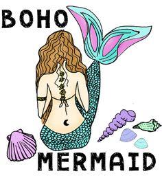 Boho Mermaid Wallpapers